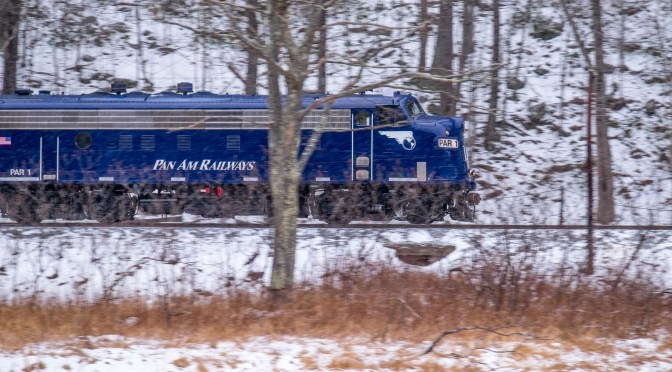 Tracking the Light Special: Pan Am Railways Office Car Special (OCS)—February 15, 2015.