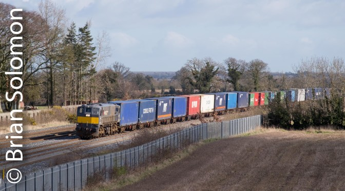 Irish Rail: An Early March 2016 View From Stucumny Bridge in Eight Photos!