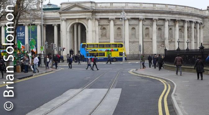 More on the New Tracks: Dublin's Cross City LUAS Progress; South Side.