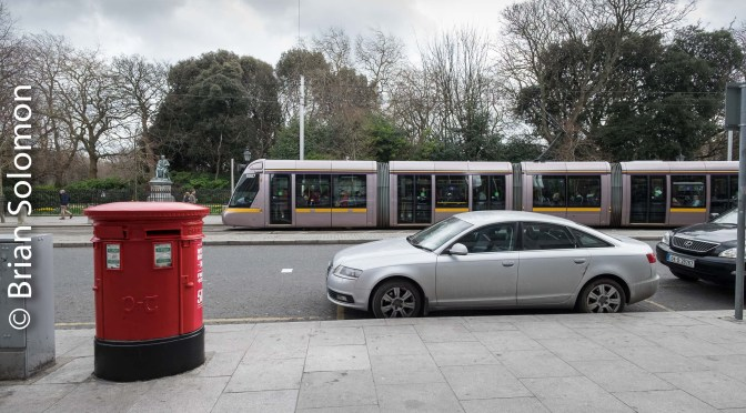 2016 Easter Special: LUAS and the Postbox.