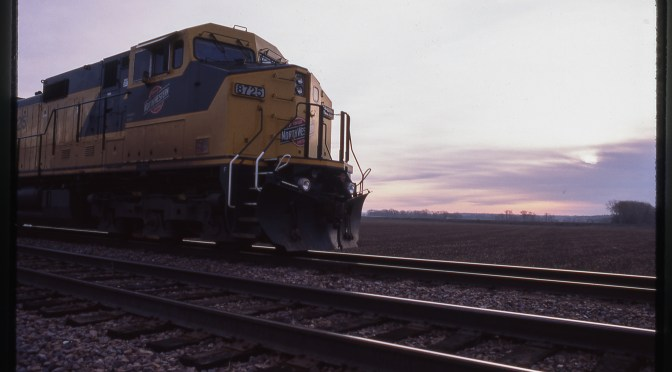 Tracking the Light Extra: Chicago & North Western Farewell-21 years ago today!