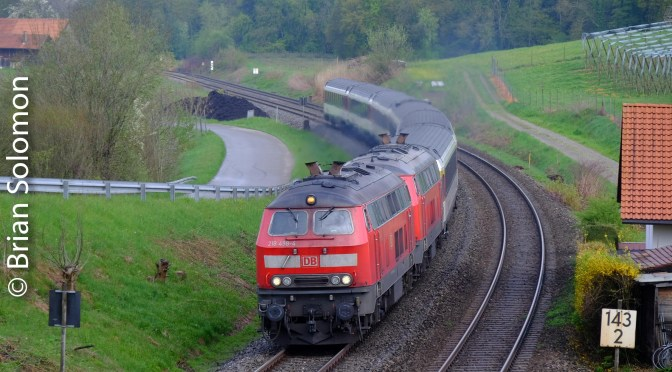 DB Rabbits on the Run near Lindau—four new photos.