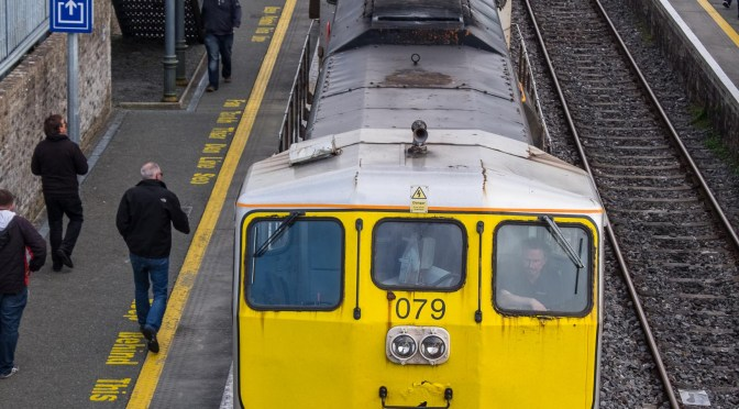 Extra Post: Irish Railway Record Society trip at Athy on 10 April 2016.