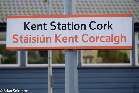 Kent Station, Cork with signal cabin.