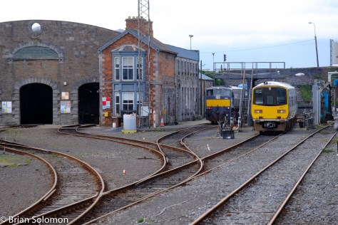 Irish Rail's Limerick shed.