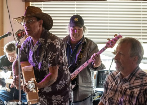 Dave Pike and the Good Old Boys. That's Dave in the cow boy hat, and music guru/railway photographer Dennis LeBeau on bass.