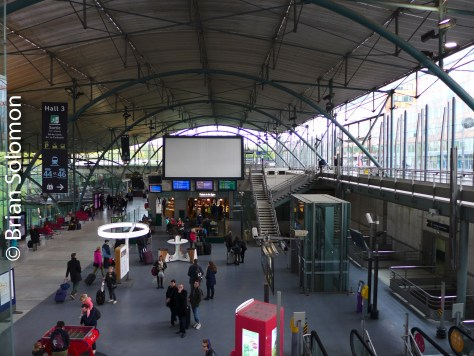 Lille Europe, TGV/Eurostar Station.