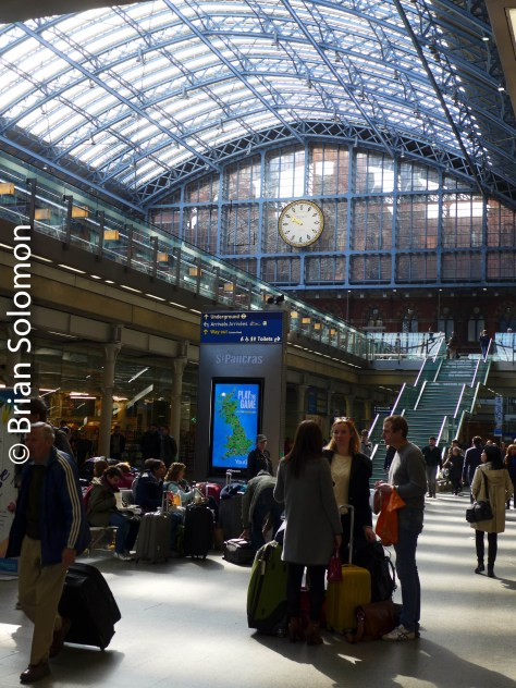 In 2007, St Pancras was re-opened following a compressive upgrading of facilities. Do you remember the dark dingy hole of the mid-1990s?