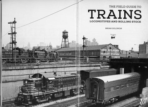 This is the title page of my new book. My father exposed this classic view of Alco Road Switchers near 16th Street in Chicago on a trip there in June 1961. While most of the photos in the book are contemporary color views, I thought I'd spice up the content with a handful of historic photos. This one was made using a Rolleiflex Model T on black & white negative film. I've always like the semaphores at the far left.