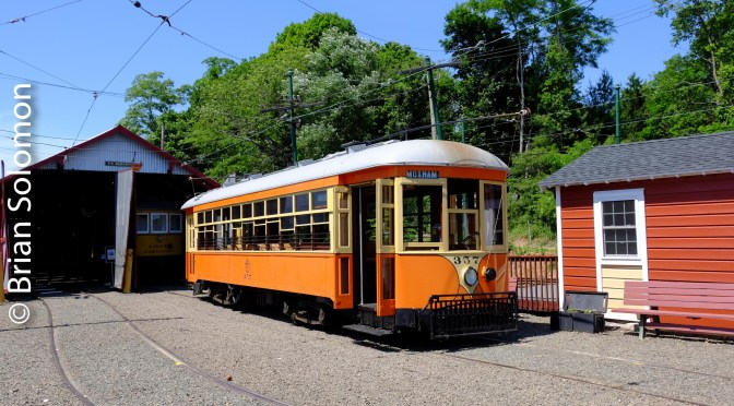 Connecticut's Shore Line Trolley Museum—June 19, 2016.