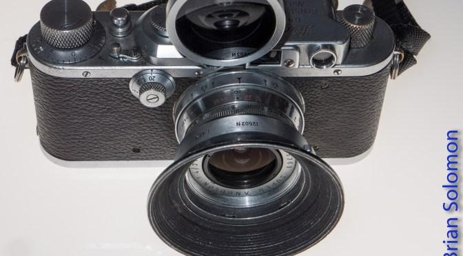 Brian's old Cameras.