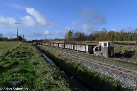 Industrial railways.