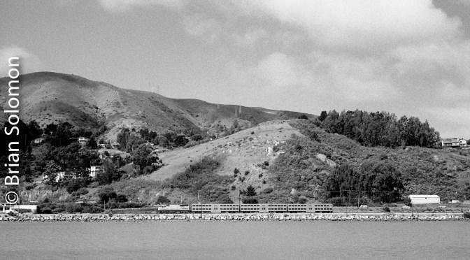 Cal-Train near old Bayshore.