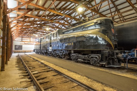 Pennsylvania Railroad GG1 electric 4929. A masterpiece of engineering and design.