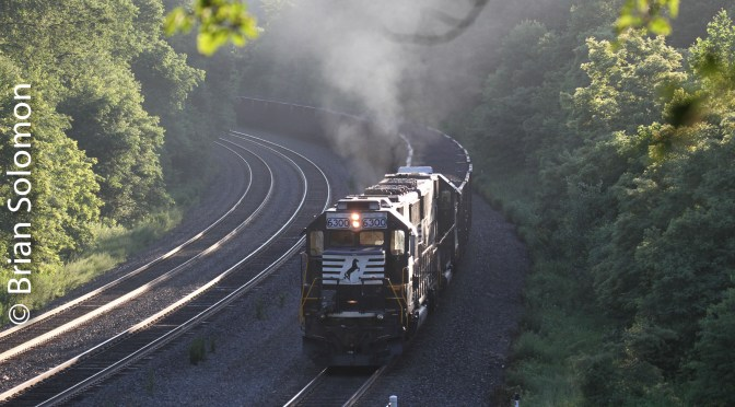 Norfolk Southern Helpers at Cassandra-July 2010.