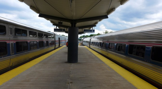 News Flash! Amtrak 448 departed Albany on Time Today! (July 16, 2016).