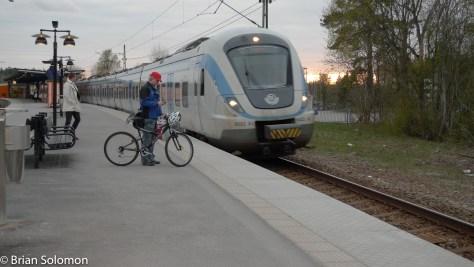 Suburban railways.