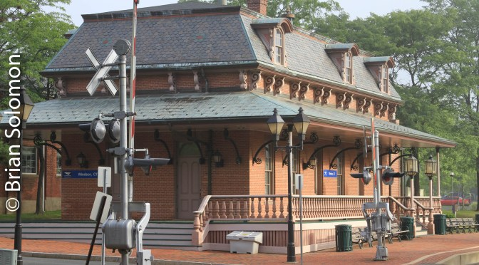 Amtrak's Windsor, Connecticut Station.