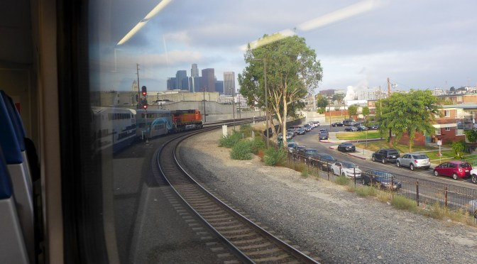 Taking a Spin on Los Angeles-area Metrolink.
