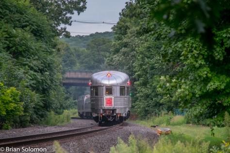 Telephoto view at Warren, Massachusetts.