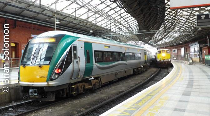 Under the Shed at Kent Station, Cork on 28 September 2016.