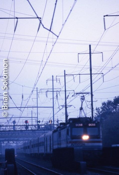 Near Eddystone Pennsylvania, October 25, 1991.
