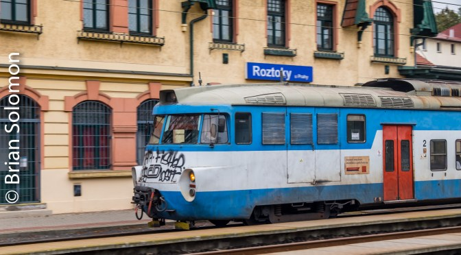 Classic Lines Marred by Graffiti—Rostoky.
