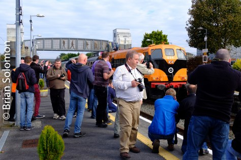 Fields of enthusiasts at Athenry.
