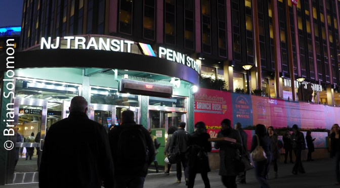 New York Penn Station—Not the prettiest place, But  . . .