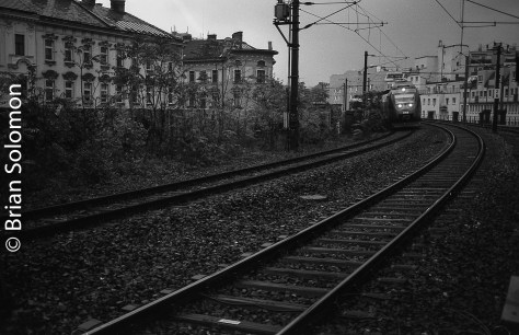 S-Bahn. Exposed with a Canon 40mm pancake lens.