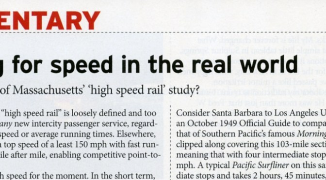 Tracking the Light Extra! March 2017 Trains Magazine