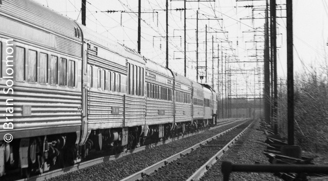 Amtrak's Northeast Corridor Revisited: Jersey Avenue—Then and Now.
