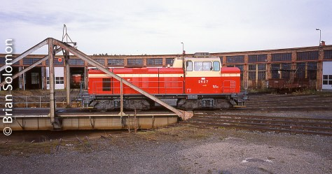 Oulu Roundhouse, September 2001. | Tracking the Light