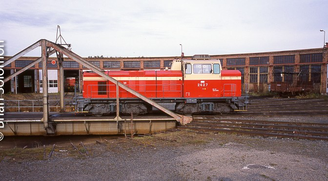 Oulu Roundhouse, September 2001.