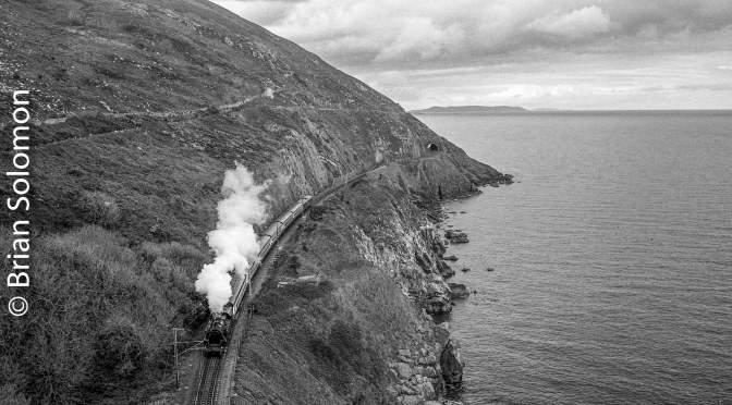 Steam at Bray Head on Easter Monday.