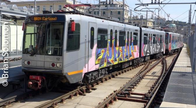 Genoa Metro.
