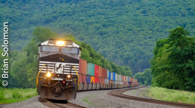 Norfolk Southern at Mexico, Pennsylvania.