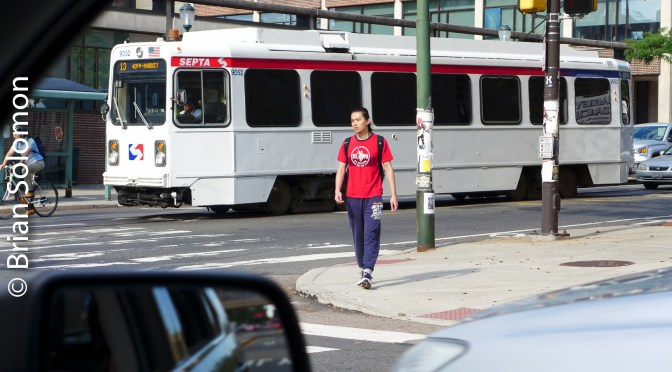 SEPTA Trolleys on 38th Street—Acting on Opportunity.