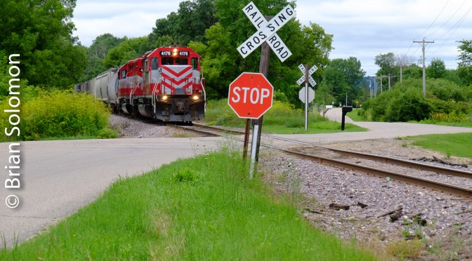 Mainline now Branchline—Wisconsin & Southern to Reedsburg, Wisconsin.