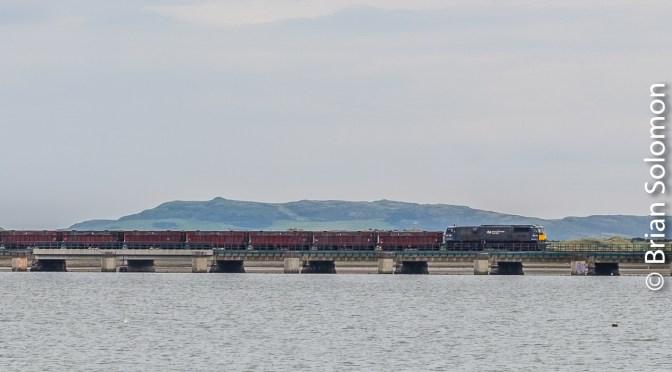 Long View: Tara Mines Zinc Ore Train at Malahide.