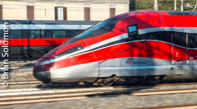 Trenitalia High Speed Train