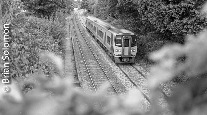 Irish Rail at Glounthaune—Two Views.