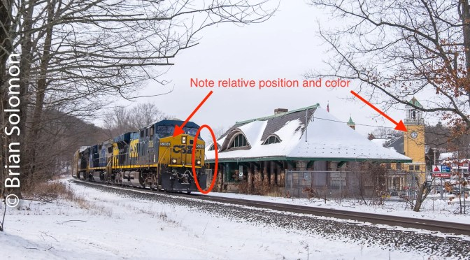 CSX at Warren, Massachusetts—Lessons in Composition Revisited—Six views.
