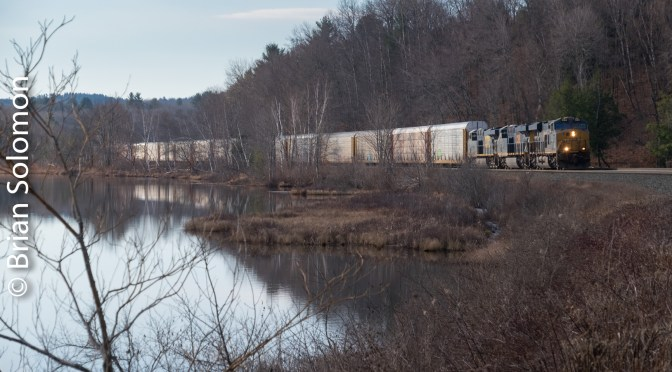 CSX near Washington Summit.