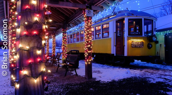 Connecticut Trolley Museum Winterfest—2017.