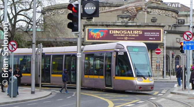 Dublin LUAS Cross City First Service Views—26 January 2018.