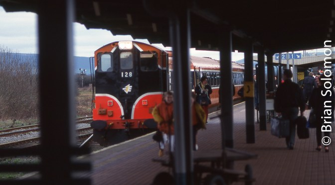 It was Twenty Years Ago Today that I made my First Trip on Irish Rail.