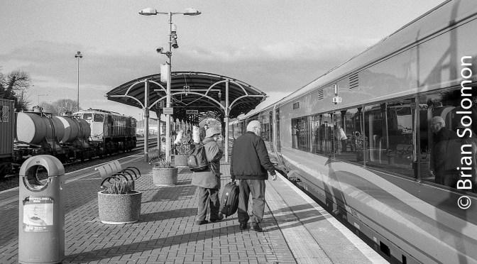 Irish Rail ICR and Sperry Train at Mallow, County Cork.