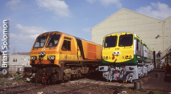 20 Years In Ireland: Irish Rail class 201 Retrospective—Introduction
