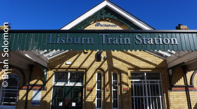 Lisburn Station on a Sunny Morning.